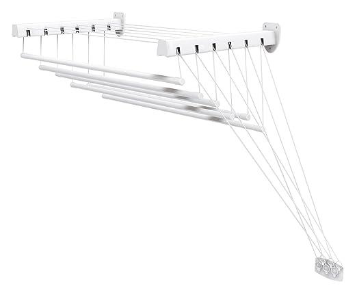 291 opinioni per Gimi Lift 180 Stendibiancheria da Parete e Soffitto in Acciaio, 10,5 m