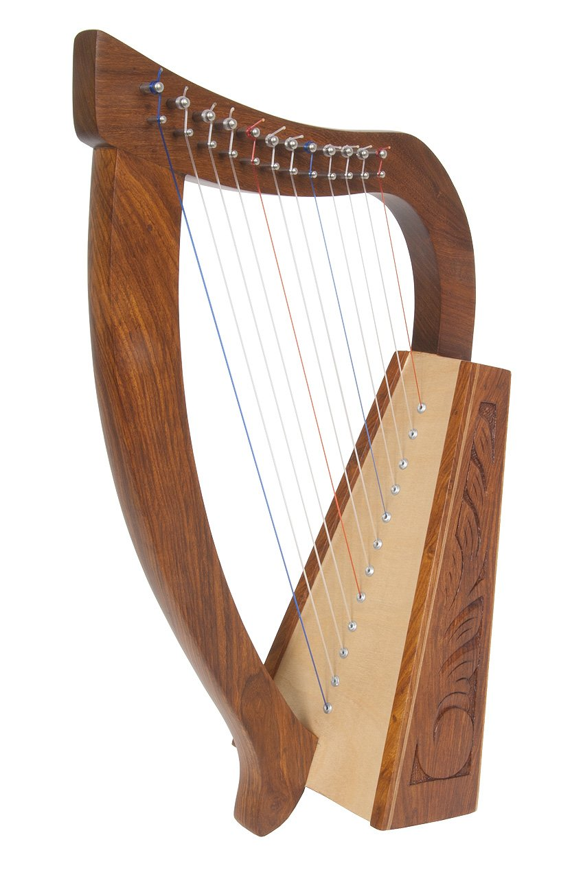 Amazon Roosebeck Baby Harp Birch 12 Strings Musical Instruments