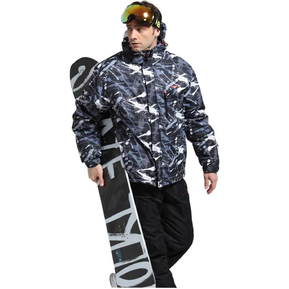 Aszhdfihas Skianzug Einzel- und Doppelpension Kalter und winddichter Schneeanzug Schneeanzug Winter (Größe   XXL)