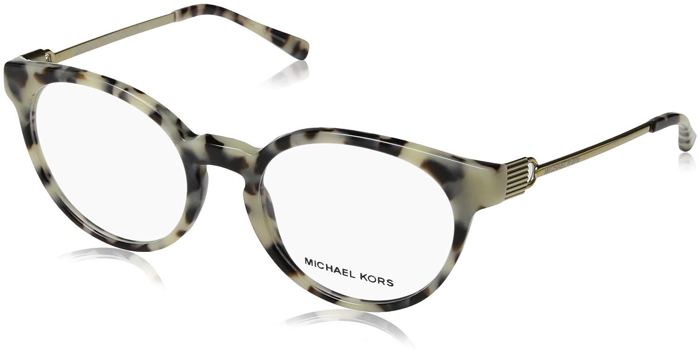b4e186a4e7c Amazon.com  Michael Kors Women s 0MK4048 Cream Tortoise One Size  Clothing