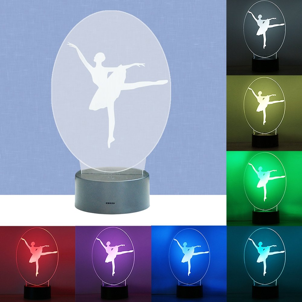 SZYT Lai dance female 3D stereo night light touch colorful led lights