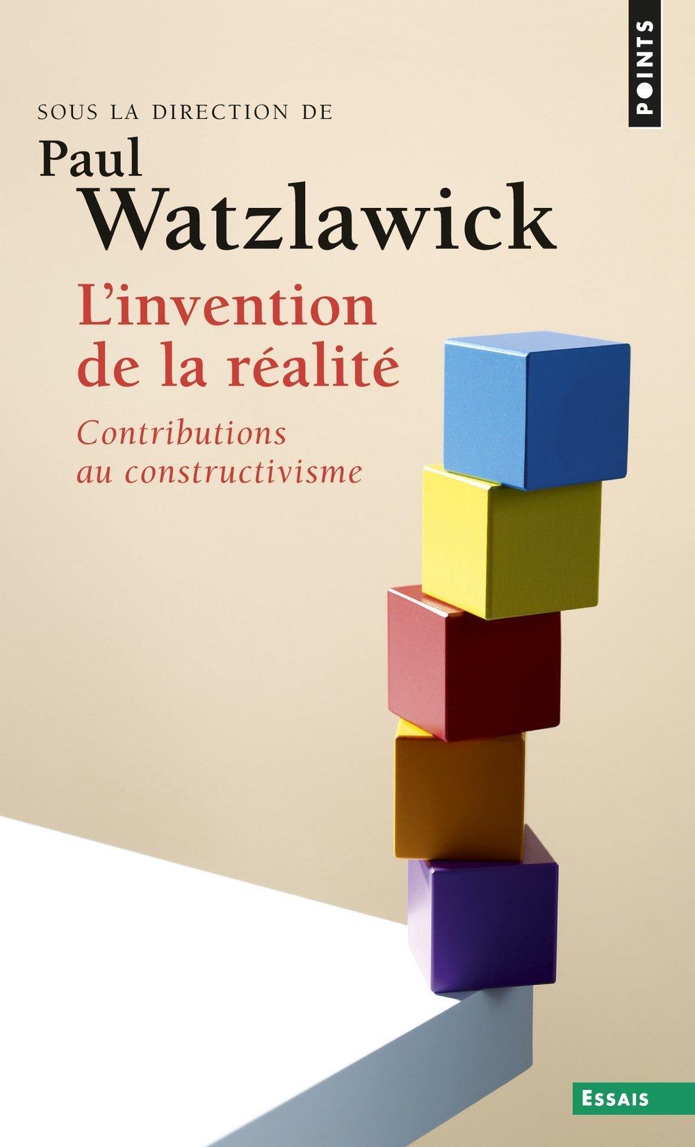 L'invention de la réalité - contributions au constructivisme (Anglais) Poche – 2 mai 1996 Paul Watzlawick Seuil 2020294524 9782020294522_DMEDIA_US