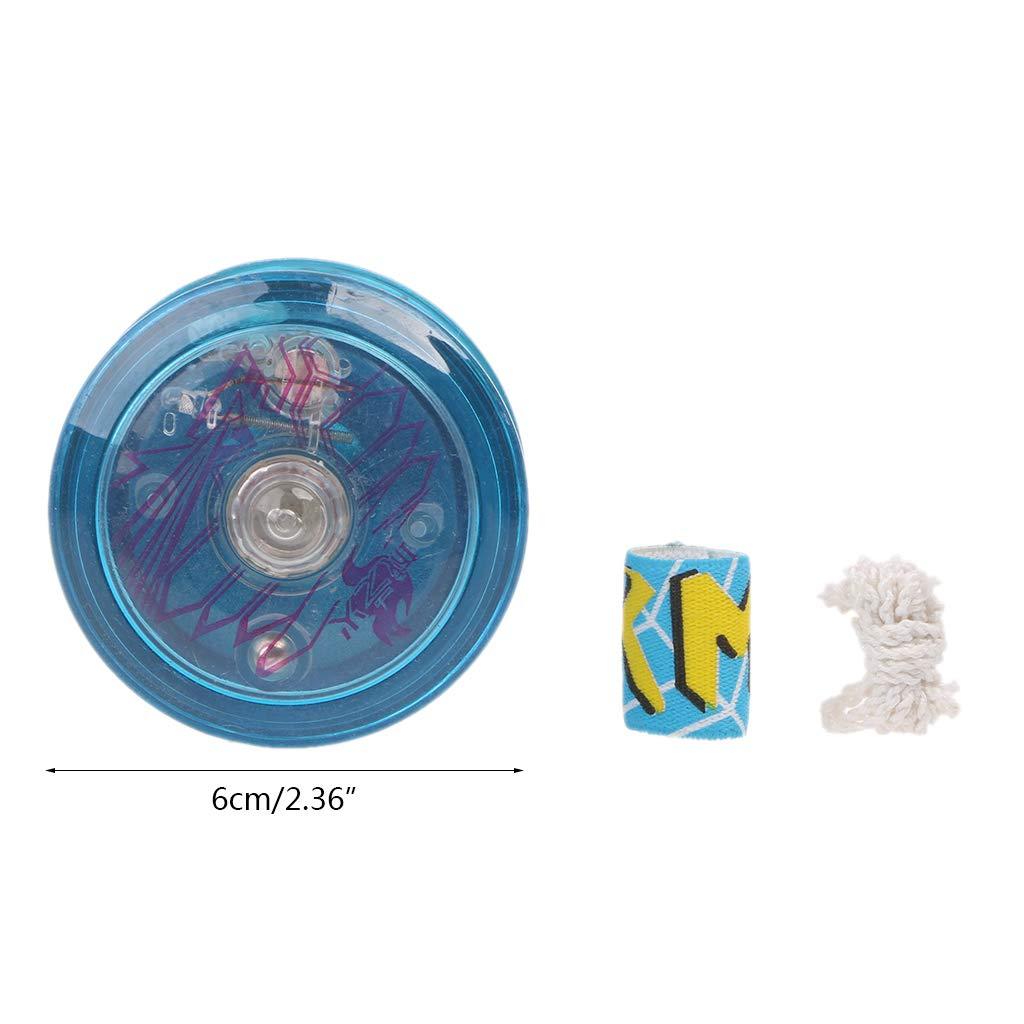 Light Up YoYo Ball for Magic Juggling Toy Fancy Moves Flashing LED Kids Gift WL