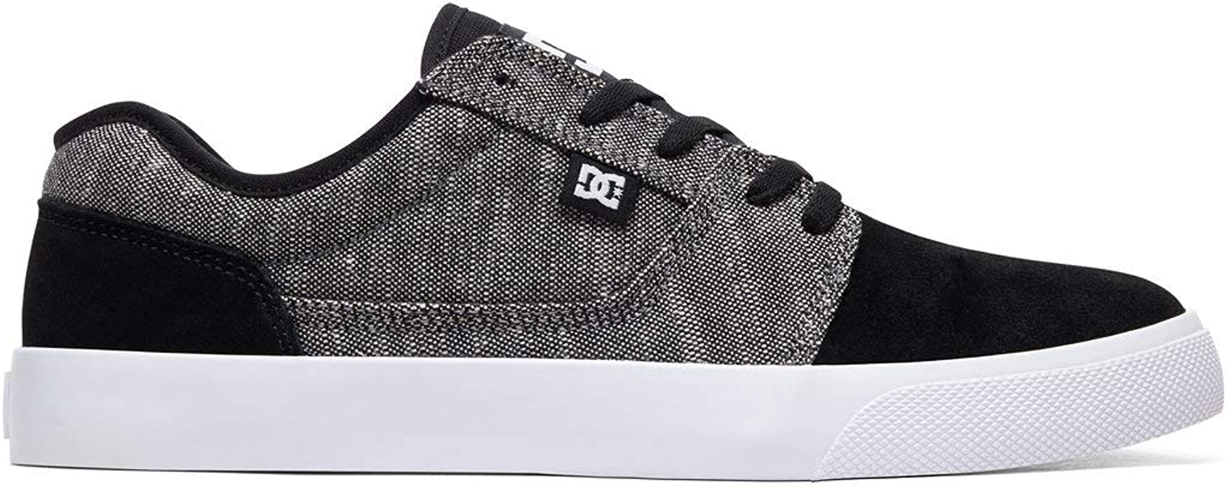 DC Shoes Tonik TX SE Sneakers Skateschuhe Herren Schwarz/Grau/Weiß (Black/Battleship/White)
