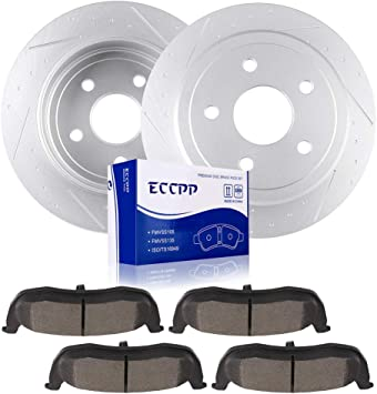 Disc Brake Pad Kit Fits JEEP COMMANDER 2006-2010 Front