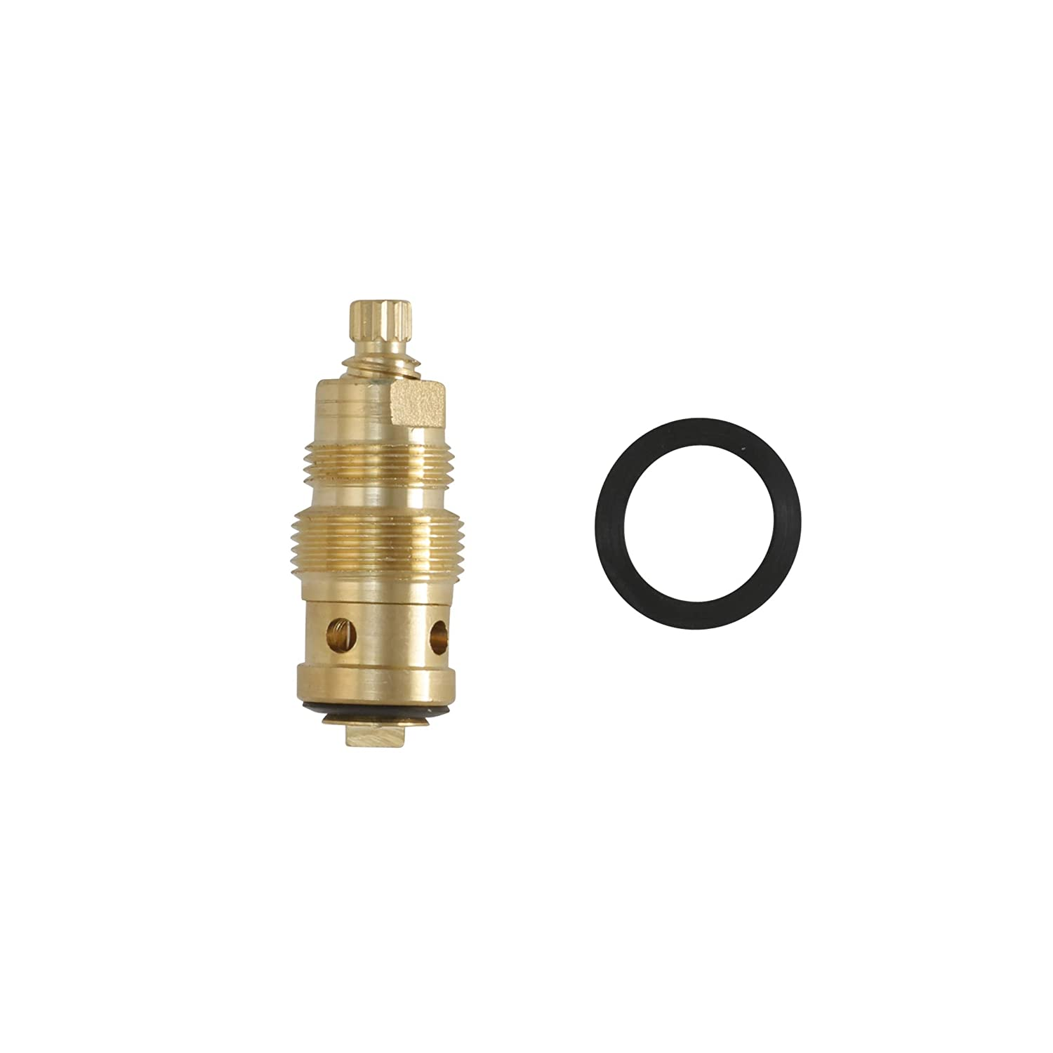 Durable Brass Hot Water Stem for Crane LL Faucets Inc. 1-Set 5A-1H 15119E DANCO Reduced-Lead