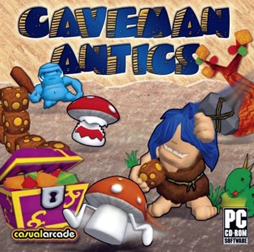 BRAND NEW Casualarcade Games Caveman Antics Arcade Logic Modes Bright Colorful 3d Graphics Easy Gameplay (Caveman Board Game compare prices)