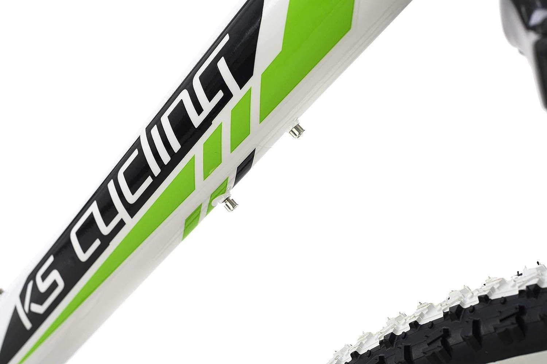 KS Cycling Mountainbike Fully 29 Scrawler wei/ß RH 51 cm