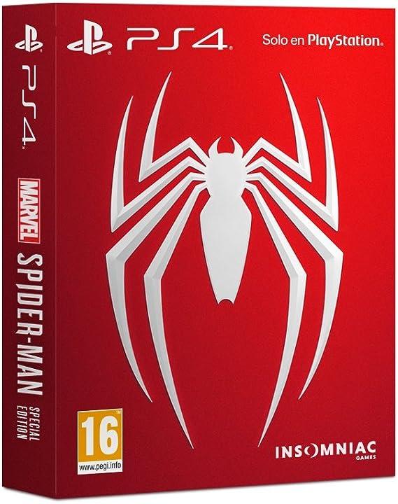 Marvels Spider-Man - Edición Especial: Sony: Amazon.es: Videojuegos
