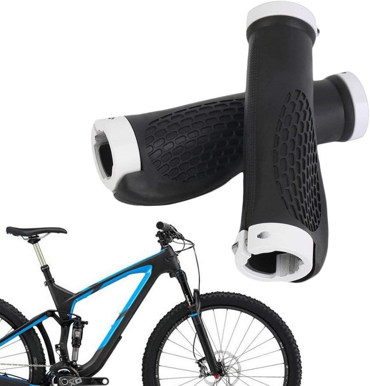 Ballylelly Puños de Manillar ergonómicos de Goma para Bicicletas ...