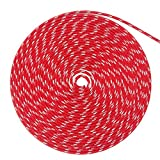 WindRider Ropes 3/8in (10mm) Sta-Set Solid Red 100 Feet Long