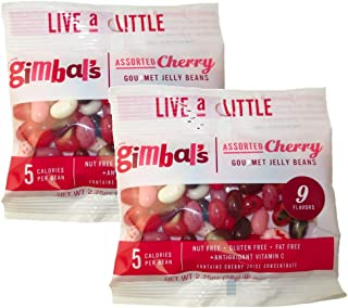 product image for Gimbal's Assorted Cherry Gourmet Jelly Beans in 9 Flavors, 2.75 Oz (Pack of 2)