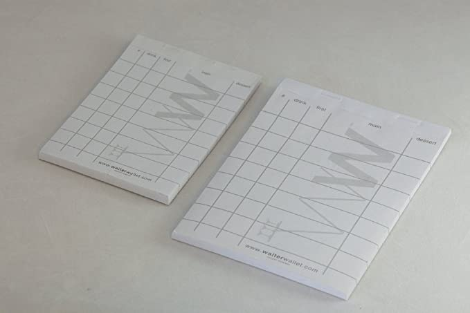 Amazon.com: Waiter Wallet Order Pads | Perfectly Formatted For ...