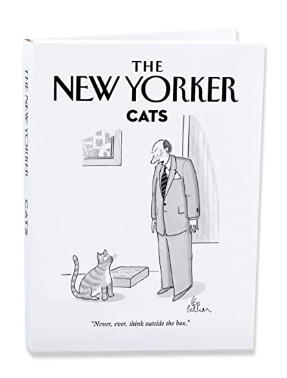 Amazon the new yorker cat cartoons notecard wallet pack of 10 the new yorker cat cartoons notecard wallet pack of 10 cards nynw05 m4hsunfo