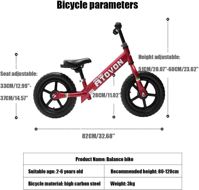 1-1 Bicicleta de 12 Pulgadas for niños Entrenamiento al Aire Libre ...