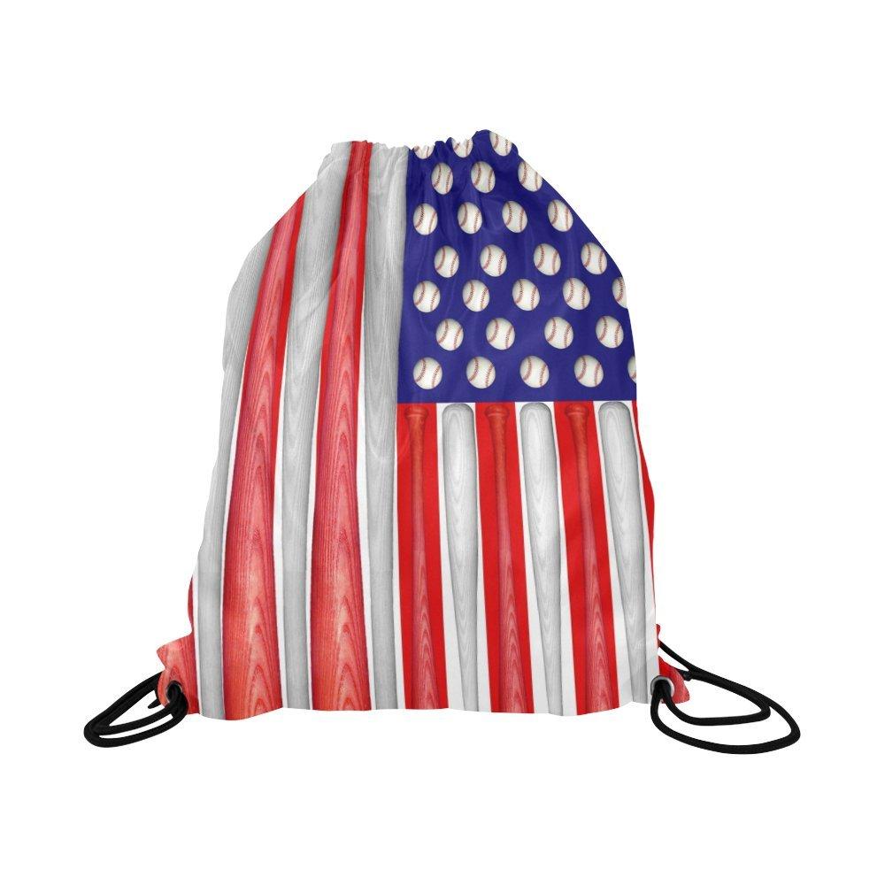 interestprintドローストリングバックパックバッグスポーツボール防水ナップサックSock Pack forジム旅行学校男性と女性、16.5