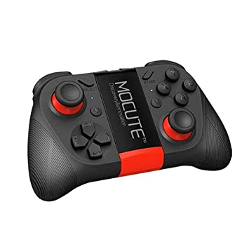 Controlador de juego inalámbrico Bluetooth V 3.0, mando a distancia recargable Teepao para teléfonos inteligentes