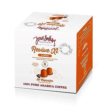 Jones Brothers Nespresso Compatible Coffee Capsules - 100% Pure Arabica (50 Pods)