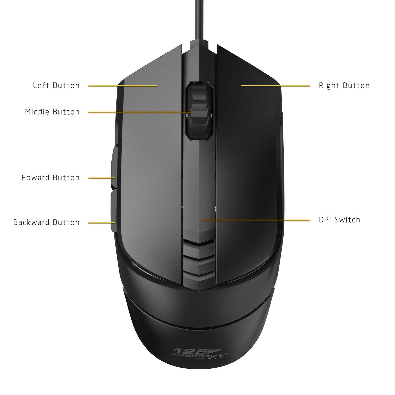 Amazon.com: Pro RGB Gaming Mouse Wired,ET Robot Ergonomic Pro Gamer ...