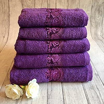 Juego de toallas de algodón egipcio 600 gsm toallas de baño juego ...