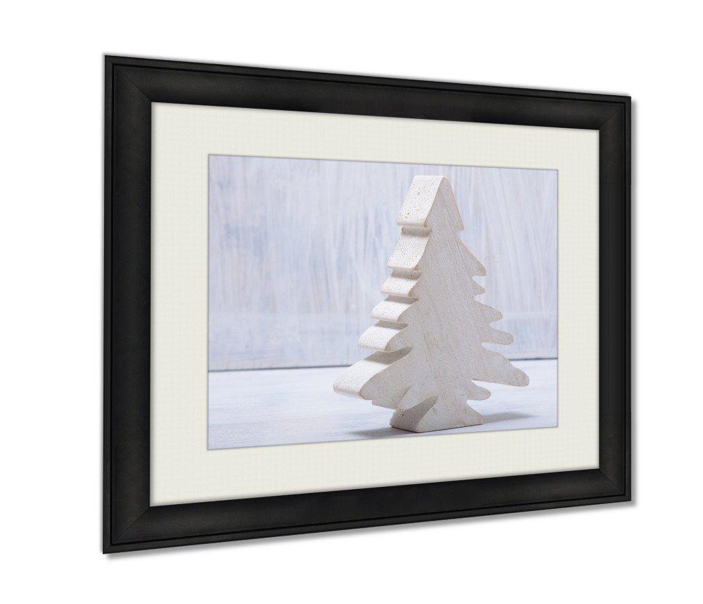 Ashley Framed Prints, Seasons Greetings Card, Wall Art Decor Giclee Photo Print In Black Wood Frame, Ready to hang, 20x25 Art, AG6609652