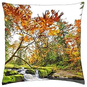 Otoño en Bowen–Funda de almohada manta (16