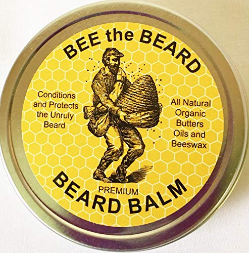Beard Balm Leave in conditioner 2 oz all Natural Handmade
