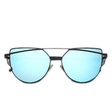 OULN1Y Gafas de sol Sunglasses Women Vintage Metal ...