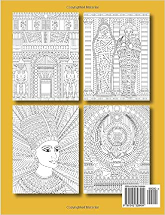 Ancient Egypt An Adult Coloring Book With Famous Landmarks Legendary Women Detailed Egyptian