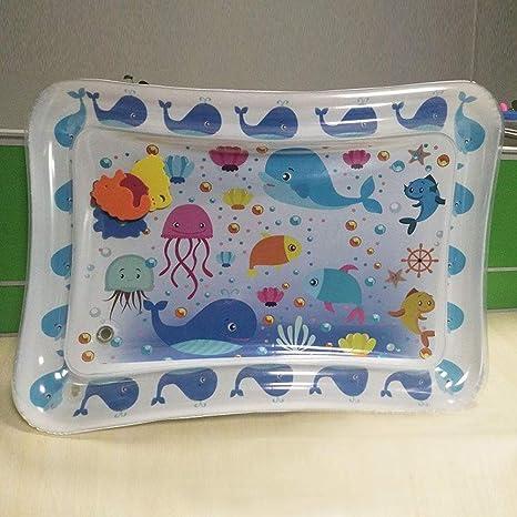 Amazon.com: Toyvian - Cojín hinchable para bebé, diseño azul ...