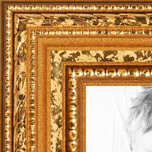 ArtToFrames 20x30 inch Gold Wood Picture Frame, WOM80801-...