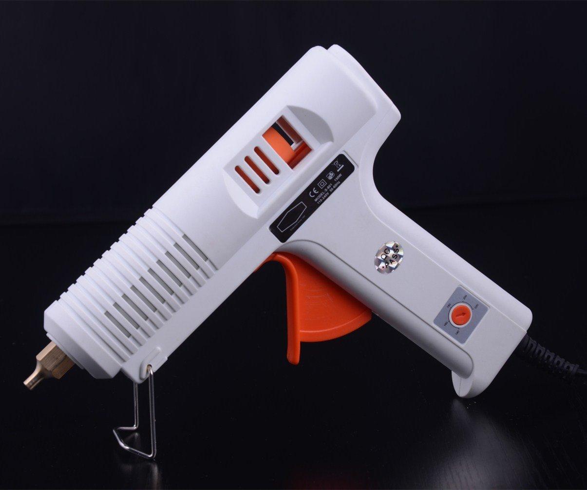 Amazon com: 150W High Temp Heavy Duty Melt Glue Gun Kit 140-220