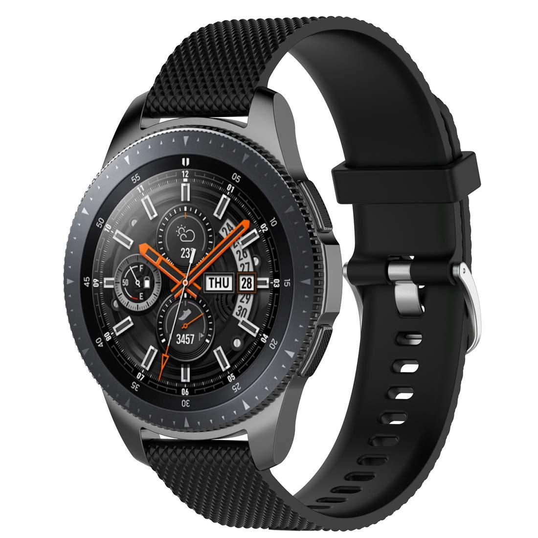 LOKEKE - Correa de Repuesto para Samsung Galaxy Watch de 22 mm, Correa de Silicona de Repuesto para Samsung Galaxy Watch (46 mm), Samsung Gear S3 ...