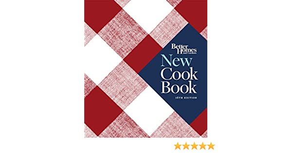 Better Homes and Gardens New Cook Book, Sixteenth Edition (Better Homes and Gardens Plaid) (English Edition) eBook: Better Homes & Gardens: Amazon.es: ...