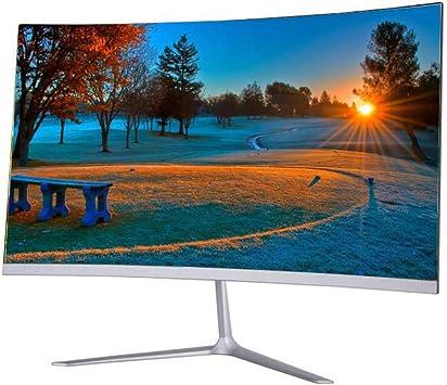 24 Pulgadas De Monitor Curvo Nueva Ultra-Delgado Monitor De Superficie 75Hz HD Gaming 23.8