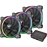 Thermaltake Riing 12 LED Radiator Fan 256 Sync Edition ケースファン FN1228 CL-F071-PL12SW-A