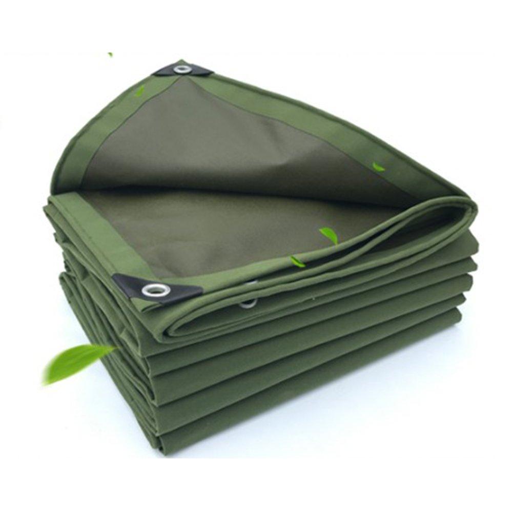 AJZXHE Wasserdichtes Sonnenschutzzelt-Tuch LKW-Schuppentuchabnutzungs-Besteändiges Rostschutzantisegeltuch der Plane, grün -Plane
