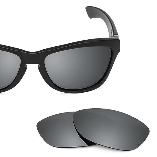 33e8c36a0706 Revant Polarized Replacement Lenses for Oakley Jupiter Elite Black Chrome  MirrorShield