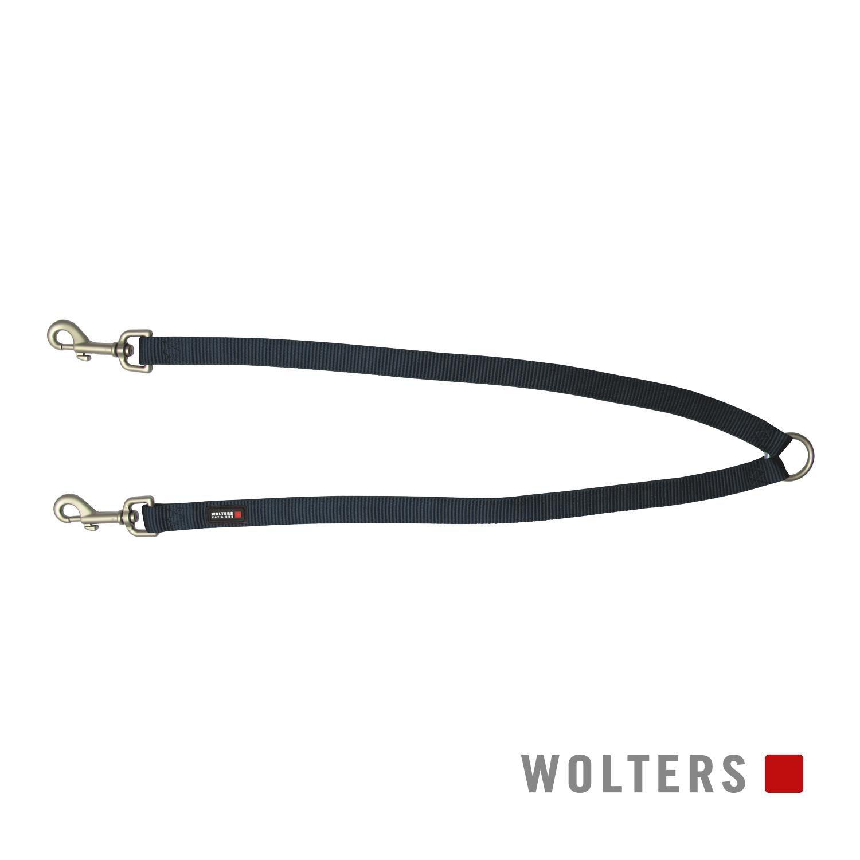 Wolters Koppel Professional Graphit S-L - Hundekoppel Hunde Nylonkoppel