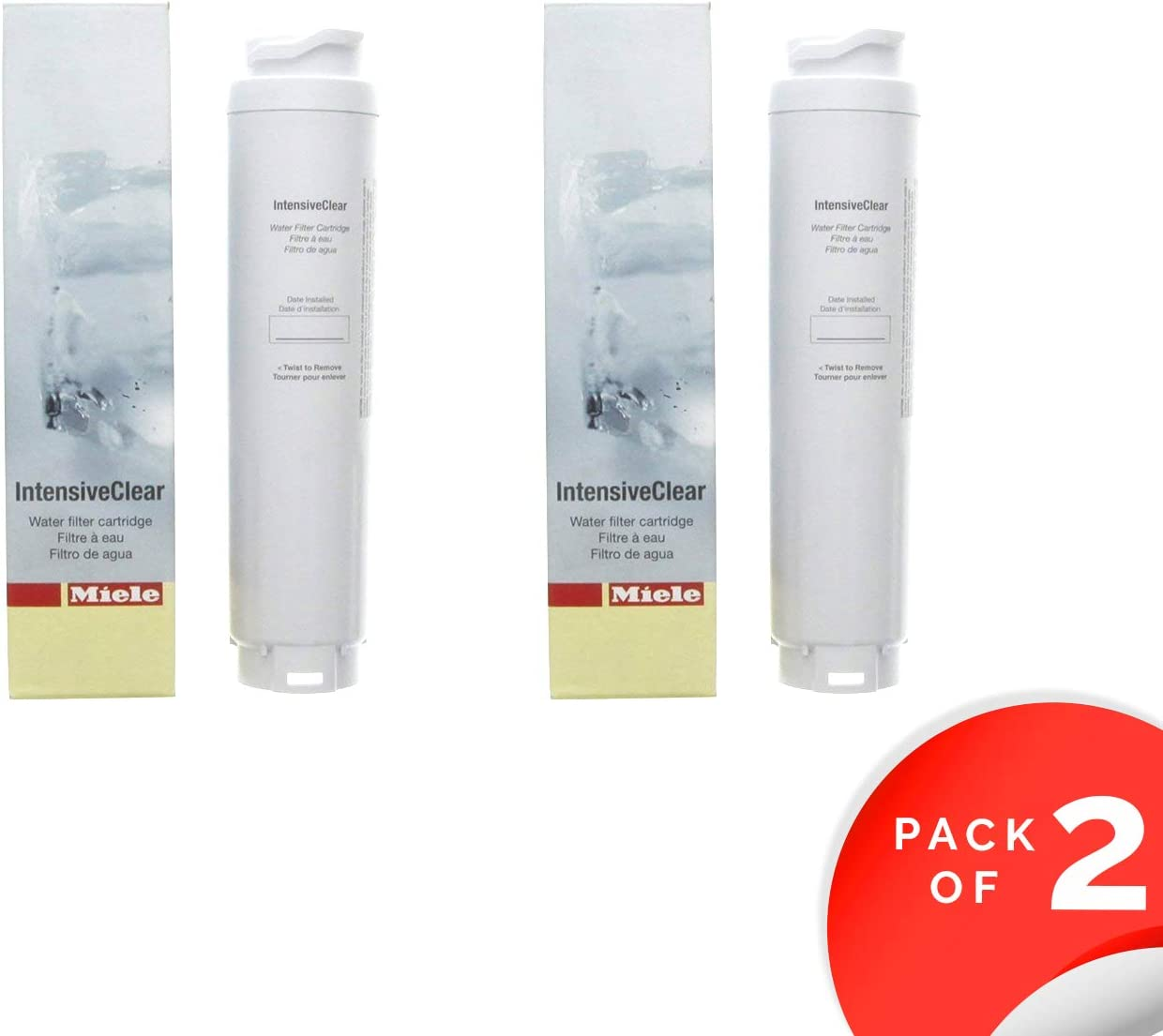 Miele Refrigerator Replacement Water Filter - KWF1000 (2)