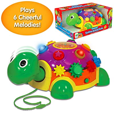 The Learning Journey Early Learning – Funtime Activity Turtle – Baby & Toddler Toys & Gifts for Boys & Girls Ages 12 Months & Up – Award-Winning Toy: Toys & Games