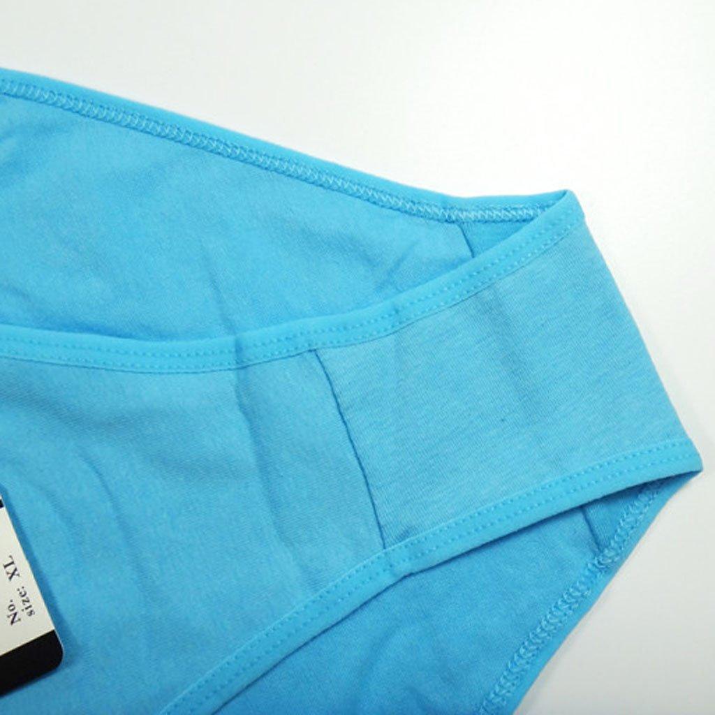 Junlinto Femmes Fille Taille Basse Bowknot Bandage Imprimer sous-V/êtements Coton M/élang/é Culotte M/émoires Ramdon