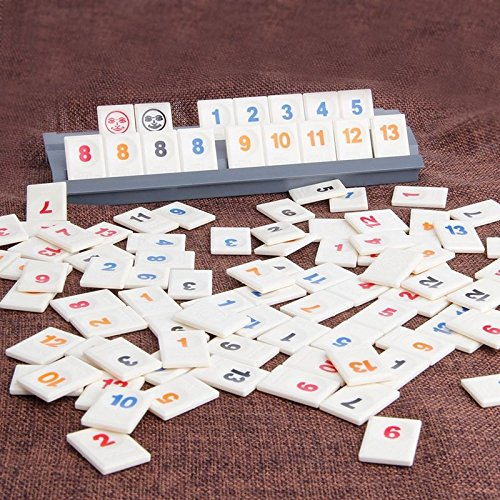The Original Digital Board Game Israel Mahjong Rummikub 106 Tiles Family Travel by unbranded