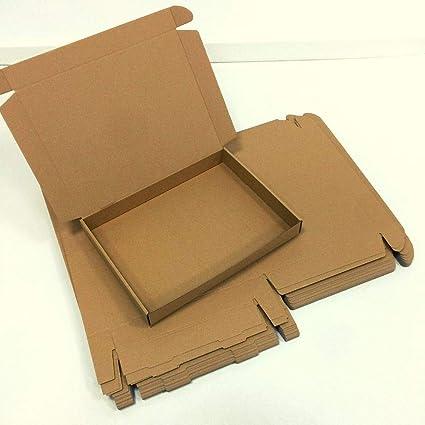 1 Pack de 25 Cajas de Cartón Automontables para Envíos. Caja de ...