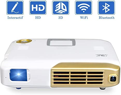 SWEET Profesional 4K del Proyector Mini Proyector HD 720p Home ...