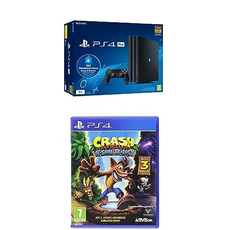 Playstation 4 Pro (PS4) - Consola de 1TB + 20 live card ...