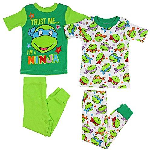 ninja turtles pajamas 2t - 9