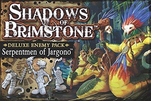Shadows of Brimstone: Serpentmen of Jargono Deluxe Enemy ...