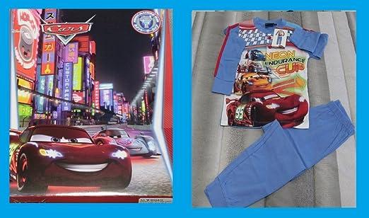 Russo Tessuti Pijama bebé niño Chándal Disney Cars Rayo McQueen ...