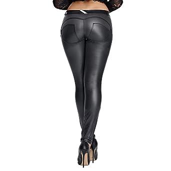 Amazon.com: DALLNS - Mallas de piel sintética con forma de ...